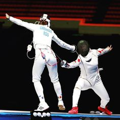 More #fencing competitions! This time with the #epee World Cups in #Barcelona and #Heidenheim! #WCepee2016 #roadtorio || see all the info  http://aafa.me/1ZMvn2m  by fencing_fie