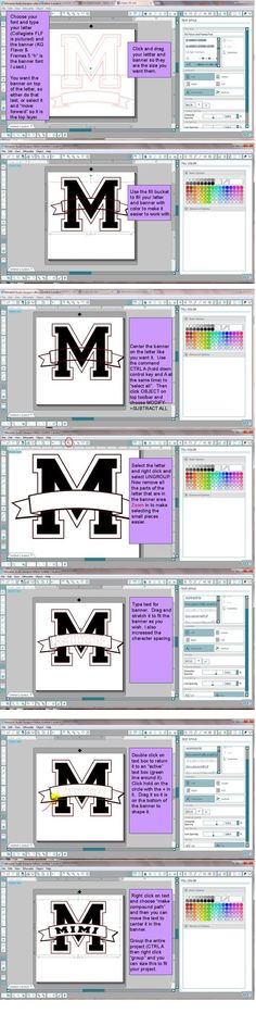 Picture only, no website.  But, Banner monogram!