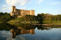 Ecosse, le château de Dunvegan.