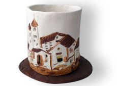 candelabro Mugs, Tableware, Porta Velas, Murals, Candelabra, Dinnerware, Tumblers, Tablewares, Mug