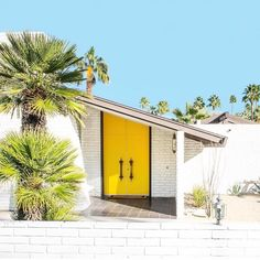 Oh. Hey. Here's a yellow door to make you happy. 📷 by @fredbaby13 on Instagram
