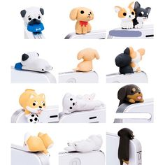 Amazon.com: Little Puppy 3.5mm Dust Plug 6 Pcs of Jack Earphone Cap for iphone 6, iphone 5s/5/4s/4, Samsung S3 S4 S5: Cell Phones & Accessories