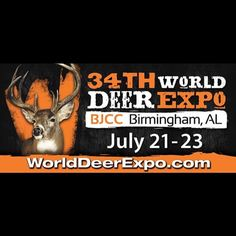 Just signed the contract to be at the World Deer Expo in Birmingham at the BJCC July 21-23. Mark your calendars and come out and see all the awesome products and vendors! I will be in the Hellytec booth (booths 4108-4109 right across from the Ford display) all weekend. #hunt #hunter #hunting #huntress #deer #worlddeer #bowhunting #bowhunter #girlswhohunt #fish #fishing #guns #ammo #tactical #turkeyhunting #sportsman #outdoors #family #friends #fun #birmingham #alabama #expo ... repost…