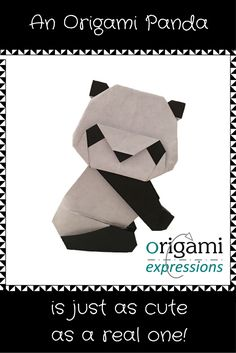 A review of Yamaguchi Makoto's origami panda model. It's very cute! Includes thoughts on folding, paper to use, and where to get diagrams. via @origami_express