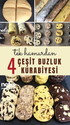 Tek Hamurdan 4 Çeşit Buzluk Kurabiyesi ( Videolu) - Nefis Yemek Tarifleri 4 Types of Ice Cream Cookies from One Dough (With Video) - Yummy Recipes Brownie Low Carb, Keto Desserts, Dessert Recipes, Cake Cookies, Cupcake Cakes, Lemon Cupcakes, Strawberry Cupcakes, Types Of Ice Cream, Pasta Cake