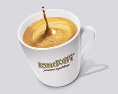 Coffe cup graphics made for Landolfi