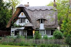 A fairy tale cottage