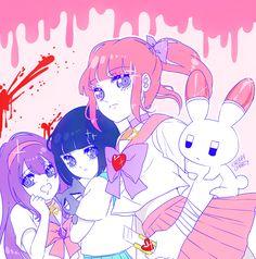 """menhera-chan fan art ~ please do not stealeditrepost. deviantart | twitter | facebook | etsy """