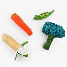 Veggie Rattles