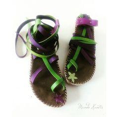 Mundo Kantia saluda a la Primavera con esta bonita combinaciòn de colores  transformadis en unas sandalias mod.peregrinas. Avance de la pròxima colecciòn