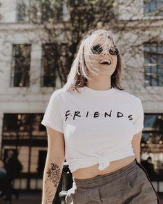 Friends Logo T-Shirt | Urban Outfitters | Women's | New #UOEurope #urbanoutfitterseu #urbanoutfitters #uoonyou