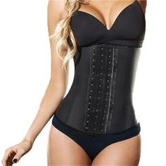 Rubber+Latex Corset Waist Trainer Women Shapewear Hot Body Shaper Corset Slimming Belt Waist Shaper