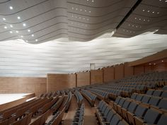 Theater Qingdao / gmp Architekten Grand Theater Qingdao / gmp architektenGrand Slam Grand Slam or Grand slam may refer to: Auditorium Design, Auditorium Architecture, Theatre Architecture, Interior Architecture, Hall Design, Theatre Design, Perspective Architecture, Brick Cladding, Lecture Theatre