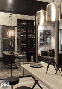Modern Industrial Studio Apartment