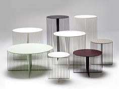 ACCURSIO | Round coffee table by La Cividina | design Antonino Sciortino