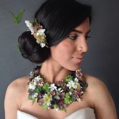"""178 mentions J'aime, 28 commentaires - Passionflower (@passionflowersue) sur Instagram: """"Eeeek! Fab floral jewelry shoot with @mioaradragan and @thegownshopa2"""""""