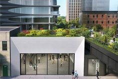 The Zaha Hadid-designed condo complex at the High Line in Chelsea will feature 15 gallery spaces.