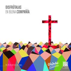 Ilustración creada para las Cruces de Mayo de Córdoba 2016