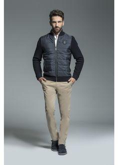 Emiliano Jacket #jacket #cardigan #blue #warm #newarrivals #FW15 #Fall #Winter #kleding #herenkleding #menswear #CavallaroNapoli #shop #fashion #Italiaansekleding #Italy