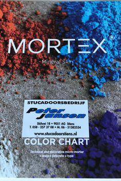 Kleurenkaart #betoncire #beal #mortex #betonlook in meer dan 60 kleuren verkrijgbaar. www.stucadoorstiens.nl