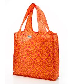 A perfectly preppy concoction of pink & tangerine in a timeless damask pattern inspired by the ladies who stroll down 5th Avenue in springtime - by Rumé. Available at labellavitamadison.com