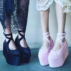 """""""Today is a good shoe day for u isn't it? All new XXXclusive #DollsKill styles have arrived: www.dollskill.com/BalletBop"""""""