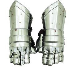 Add something new to your Medieval decor collection. These armor hand gloves attract the visitors due to their inviting appeal that pays tribute to the iconic knight style. Dimensions: 13 inches lengt