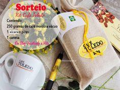 Tricotando a Vida: Sorteio Kit Café Toledo .