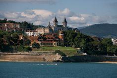 Palacio de Miramar. San Sebastian Donostia. Miramar Palace. San Sebastian. Basque Country. Inaki Caperochipi Photography