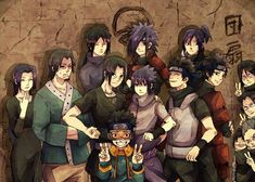 Uchiha Clan, and then there's Obito, haha..
