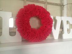 A Very Valentine Wreath