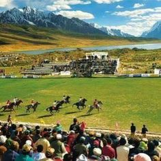 Polo in Northern Pakistan.