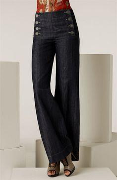 5af428f1fb28 Jean Paul Gaultier Denim Sailor Pants