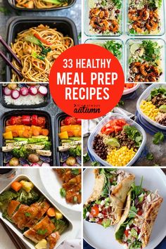 Nutritious Snack Tips For Equally Young Ones And Adults Tons Of Healthy Meal Prep Recipes Click Through For Easy Recipes You Can Make Ahead And Keep In The Fridge For Grab And Go Lunches All Week Long. Best Meal Prep, Healthy Meal Prep, Dinner Healthy, Paleo Dinner, Keto Meal, Healthy Cooking, Make Ahead Meals, Easy Meals, Easy Recipes