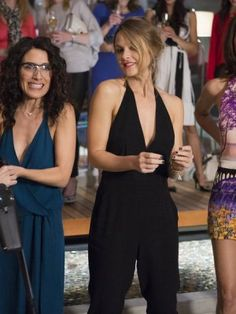 A scene from the Season 1 finale of 'Girlfriends' Guide To Divorce'