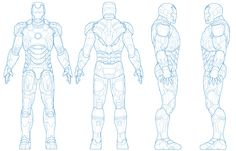 Character Reference Sheet, Character Model Sheet, Character Modeling, Character Concept, Character Design, Free Vector Graphics, Free Vector Art, Blender 3d, Iron Man Hand