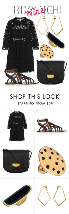 """""""Friday Wine Night"""" by luxurycitizen on Polyvore featuring Sea, New York, Valentino, Ruby Kats and Dutch Basics"""