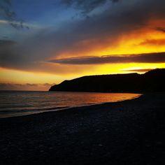 Sunset in Sougia Beach! Website: www.visitsougia.com