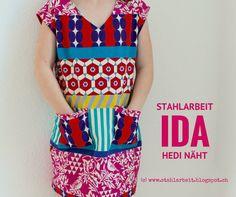 Hedi näht, Ida, #hedinaeht, Kokka, Stahlarbeit, #stahlarbeit