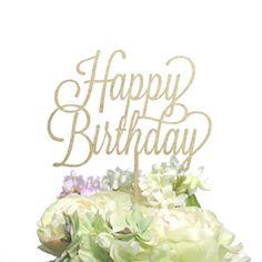 ケーキトッパー<br>【Happy Birthday/POP】