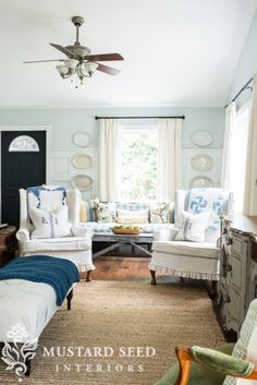 miss mustard seed | family room