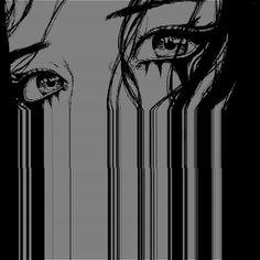 White Aesthetic, Aesthetic Anime, Manga Art, Anime Art, Poses References, Arte Horror, Dark Anime, The Villain, Vaporwave