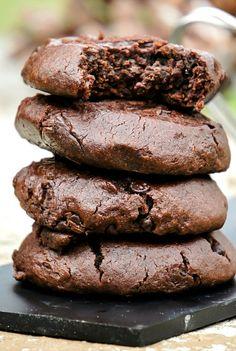 Soft Top Chocolate Fudge Cookies (recipe)