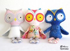 stuffed toy owls