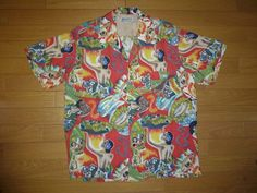 """""""Royal Hawaiian"""" label rayon"""