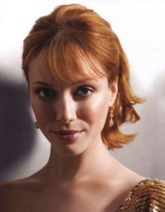 Luxurious glitter and glamour Christina Hendricks ...  Fantastic...   She starred as Blanche in Drive (2011)