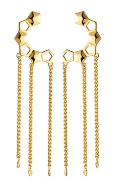 Eddie Borgo Lattice Ear Cuff at Moda Operandi
