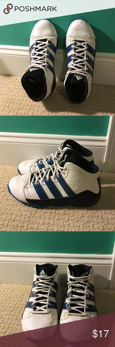 Basketball Shoes Boy's Adidas Basketball Shoes. Size 6.5. Used. A few cosmetic marks and scratches. Adidas Shoes Athletic Shoes