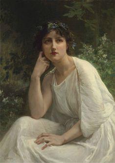The Athenaeum - Woman in White (Guillaume Seignac - )