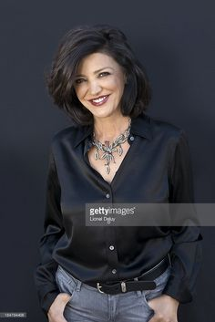 Actress <a gi-track='captionPersonalityLinkClicked' href=/galleries/search?phrase=Shohreh+Aghdashloo&family=editorial&specificpeople=210536 ng-click='$event.stopPropagation()'>Shohreh Aghdashloo</a> is photographed for Beyond Cinema Magazine on August 1, 2013 in Calabasas, California.